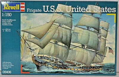 Fregatte U.S.S Revell Modellbausatz 05406 United States im Maßstab 1:150