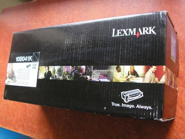 New Genuine Lexmark 10B041K Black Toner Cartridge 6K page for C750 X750