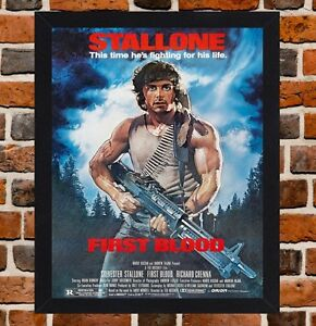 Rambo First Blood Movie Posters A4 A3 Sylvester Stallone Posters