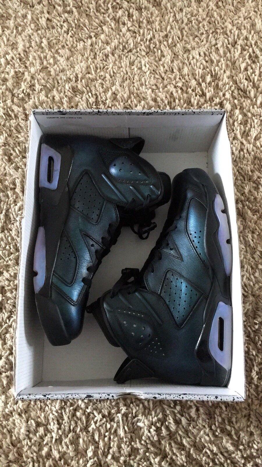 Nike air jordan retrò 6 dimensioni camaleonte all - star come 907961-015 - 5 / 5093