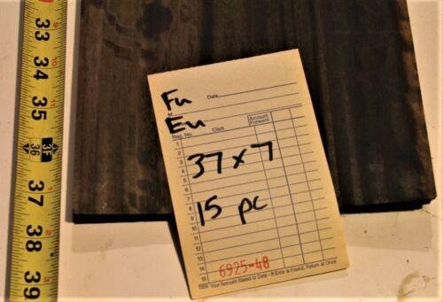 Fumed Eucalyptus Raw Wood Unbacked Veneer 37 x 7 inches     6925-48