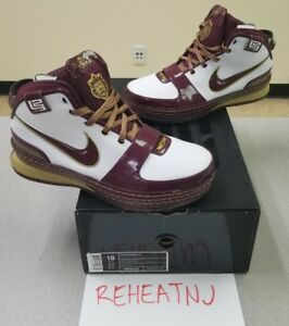 2b7a33e36c5 Nike Air Zoom Lebron 6 Christ The King CTK 346526-162 Size 10 New ...