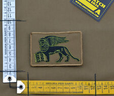 "Ricamata / Embroidered Patch Italian Navy SF ""San Marco"" with VELCRO® brand hook"