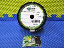Power Pro Microfilament Braided Fishing Line 15 lb. 1500 yds. Moss Green