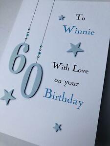 handmade personalised 30th// 40th//50th// birthday card women//men