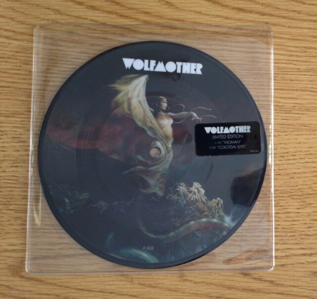 """Wolfmother Woman 7"""" picture  disc LTD"""
