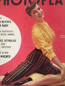 Vintage-Collectible-Movie-Magazine-Debbie-Reynolds-Cover-November-1954