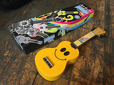 Mahalo Smile Art Series Soprano Ukulele Uke Reduced To Clear RRP £29.99