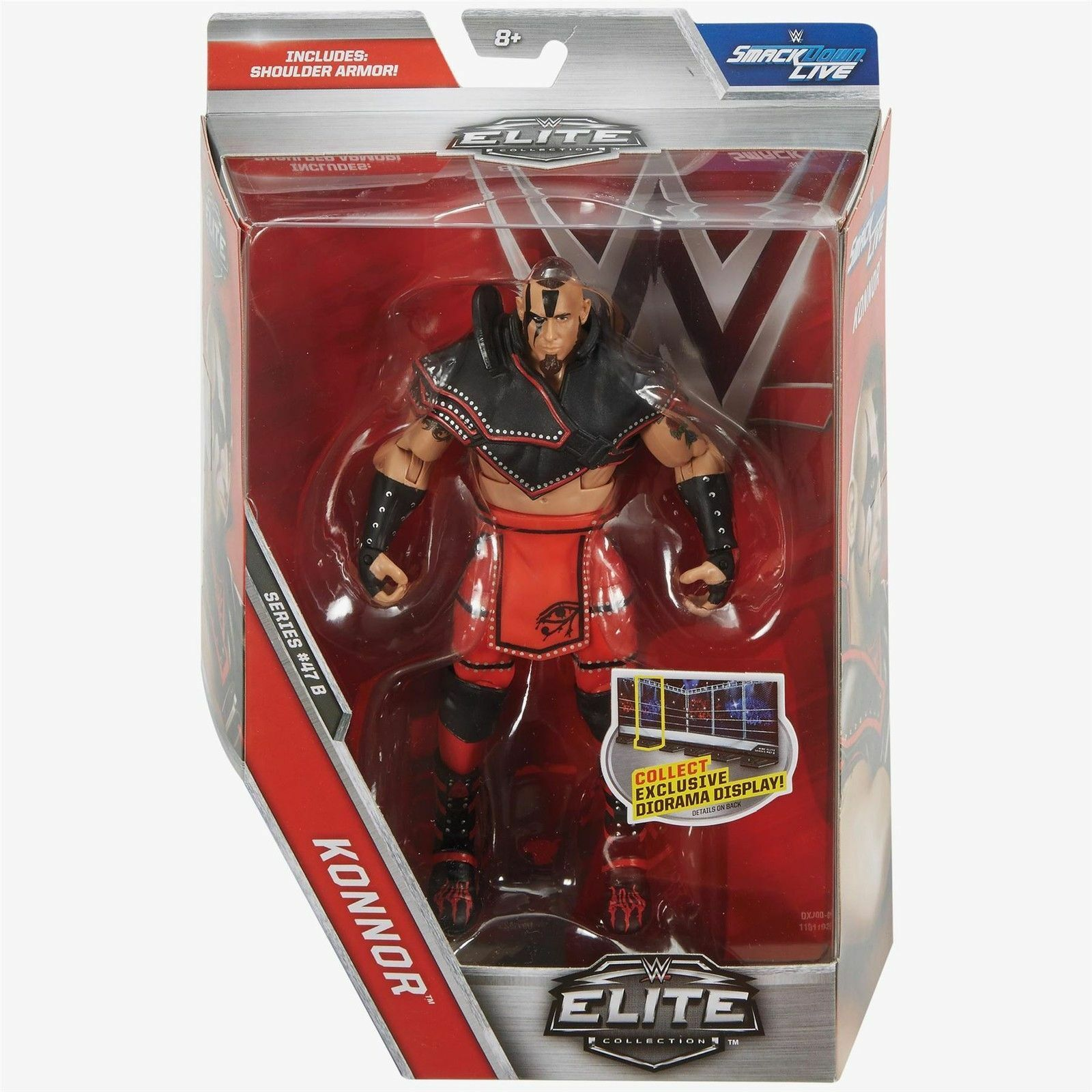 WWE ELITE 47 47.5 47B KONNOR THE ASCENSION SERIES WRESTLING MATTEL ACTION FIGURE