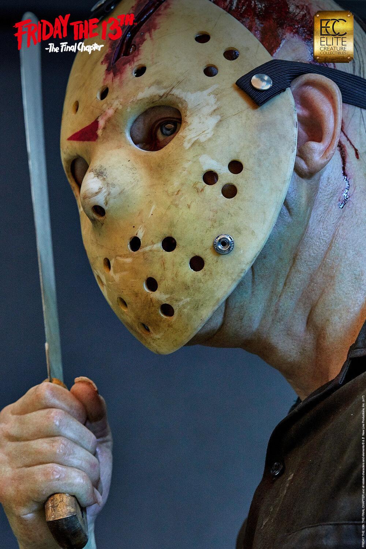 Friday the 13th Jason Voorhees 1:1 Life-Größe Büste Statue Elite Cinemaquette