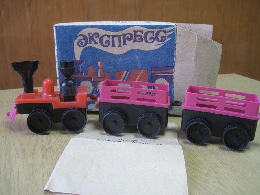 Sovjetiskt ryskt motortåg USSR gott skick Herregud med instruktion