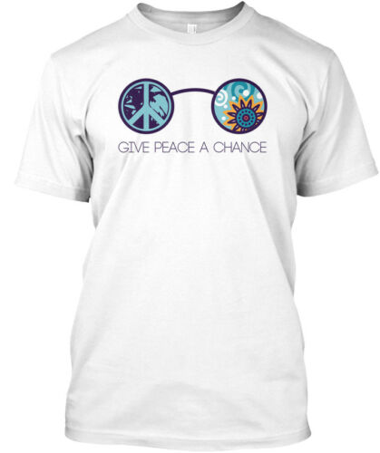 Standard Unisex T-shirt Standard Unisex T-shirt Latest Give Peace A Chance