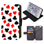 ALICE-IN-WONDERLAND-Mad-Hatter-Wallet-Flip-Phone-Case-iPhone-4-5-6-7-8-Plus-X thumbnail 19