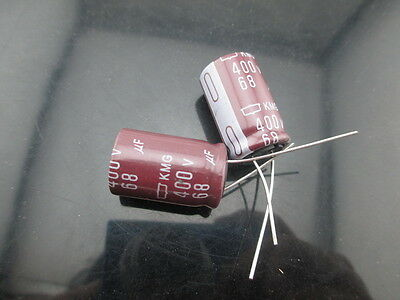 10pcs Nippon Chemi-Con NCC KMG 2.2mfd 450V 2.2UF electrolytic Capacitor10X12.5mm