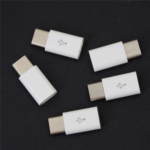 conector USB de tipo C Micro a USB 3.1 Adaptador Hembra Convertidores Usb-C Herramientas 5 un