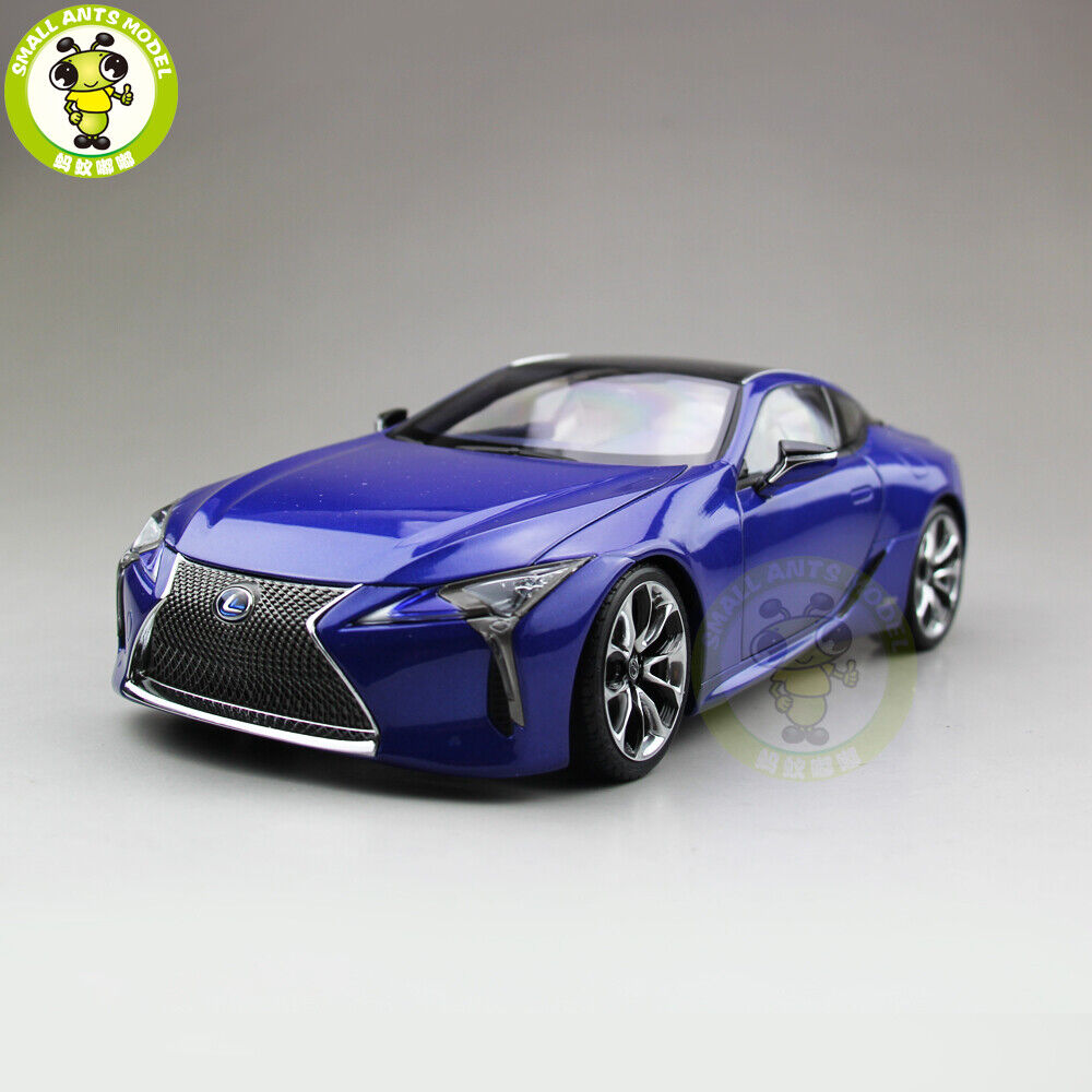 1 18 Toyota Lexus LC 500h Sports Racing car Diecast Model Car Toys Gifts blu