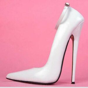 d4fb768d2ba5 7.08 inches Heel Height Sexy PU Pointed Toe Stiletto Heel Pumps US ...