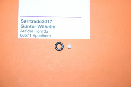 5stk.Wartungs.Kugel-O-Ring Ulka Pumpe Saeco Jura Philips Krups Miele EX5 EP5 EP5