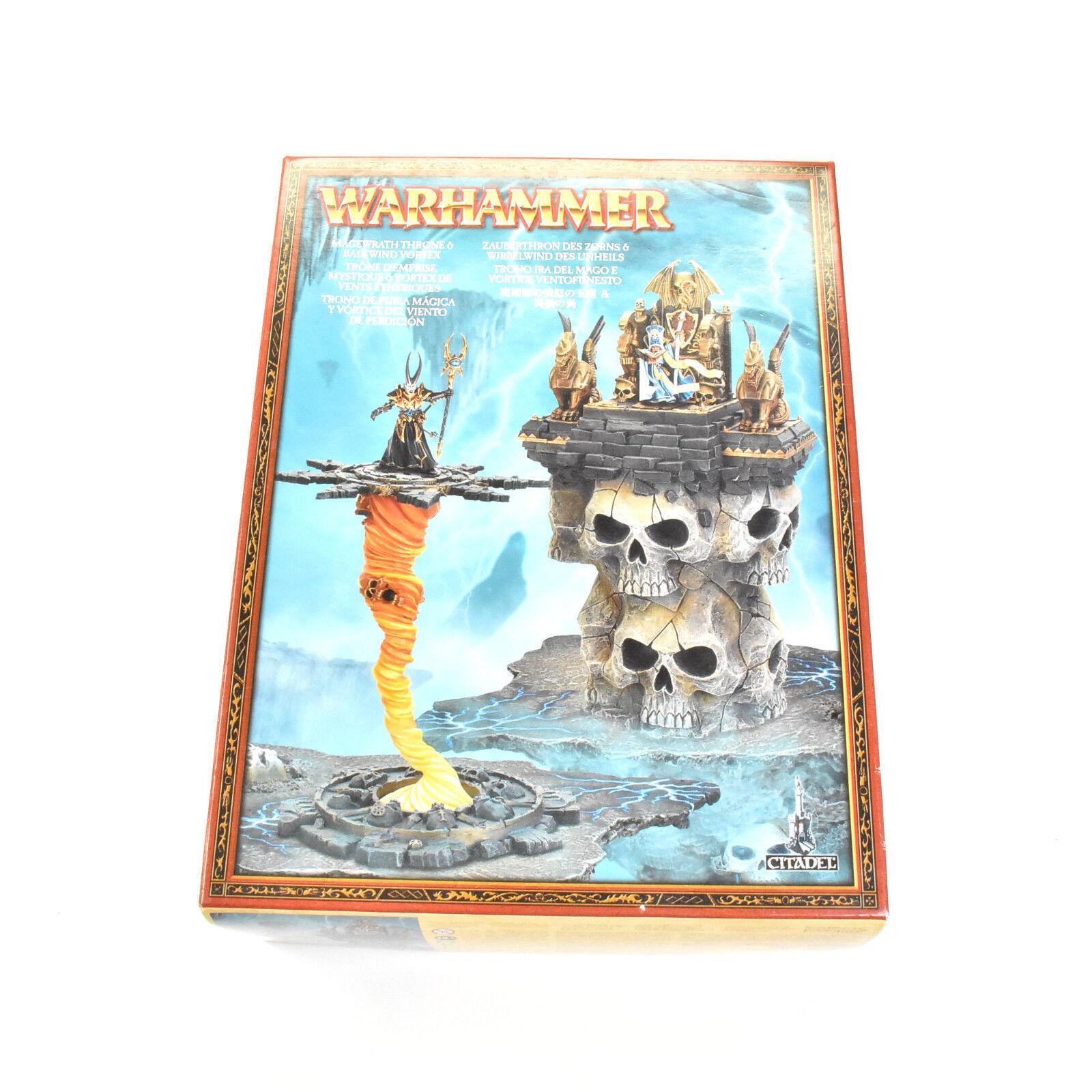WARHAMMER FANTASY Storm of Magic Magewrath throne & balewind vortex scenery