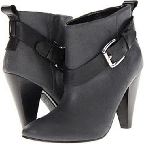 NEU GUESS gw CAROLYN Damens's BOOTS sz 8 dark gray Leder booties