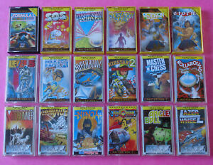 Sinclair-ZX-Spectrum-COLLECTION-of-MASTERTRONIC-GAMES-1-48k-128k