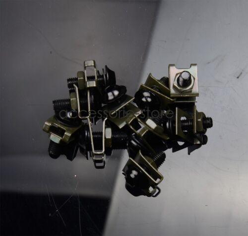 M6 6MM Fairing bolts Screws for Suzuki GSXR1000//600//750 SV1000 SV650S TL1000R//S