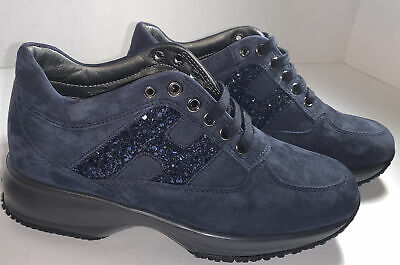 Hogan Interactive N20 sneakers, Blue, size 35.5 Ladies. 5 USA Size   eBay