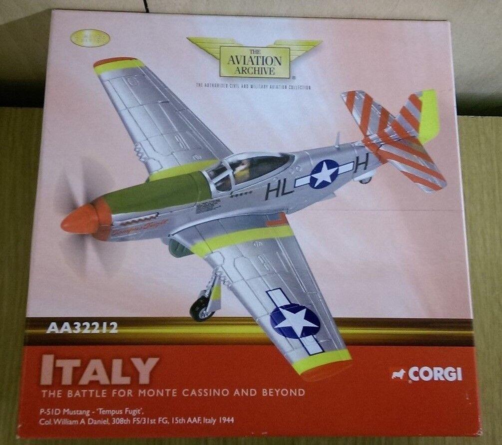 CORGI AA32212 P-51D Mustang  TEMPUS FUGIT  col. W.A. DANIEL LTD ED 0002 del 2600