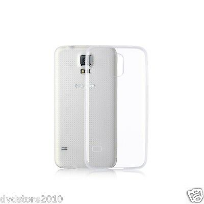 COVER case TPU Custodia MORBIDA TRASPARENTE per Samsung Galaxy S5 SV mini G800