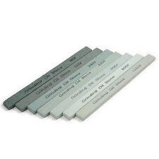 7x Grit 80-1000 Silicon Carbide Sharpener Polishing Grinding Whetstone Oil Stone