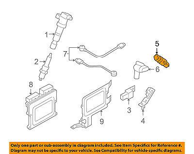 HYUNDAI OEM 99-05 Sonata-Engine Crankshaft Crank Position Sensor CPS 3918037150
