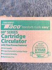 Brand New In Box Taco 007 F5 7ifc Cartridge Circulator Pump 125 Hp Ifc
