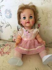 "Vintage Ideal Girl Doll 1966 12"" TD12-Teary Dearie"