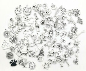 Different-Types-Tibetan-Silver-Charms-Pendants-beads-Craft-Jewellery-2
