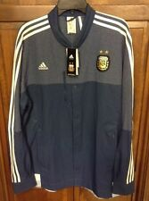 Adidas Anthem Jacket Argentina AFA Soccer Football Blue Men's XL $90 NWT M36297