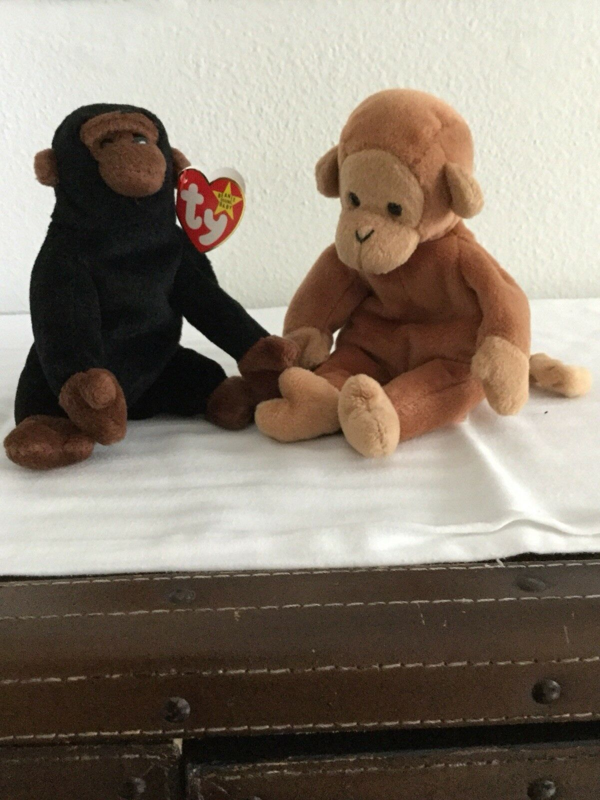 Ty beanie babies rare Bongo and Congo,retired.