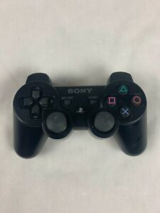 Genuine OEM Sony PlayStation 3 PS3 DualShock 3 Controller BLACK Read Description