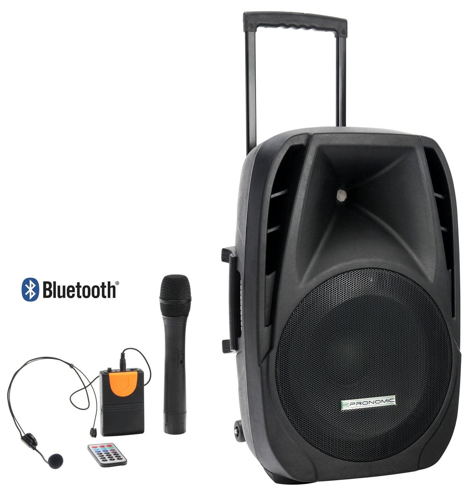 Mobile DJ PA karaoke fiesta Sound apéndice box box box azultooth mp3 USB SD 200w micro  ventas en linea