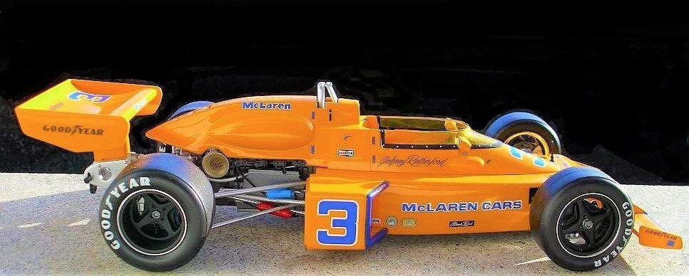 GP F 1 Vintage Mclaren 18 Indy 500 500 500 24 Race Car 12 1970s Sport Midget Formula 43 85d048