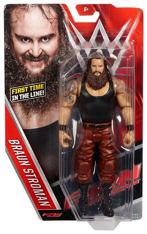 WWE brown STROWMAN FIGURE SERIES 64 WYATT FAMILY FIRST TIME IN LINE STROMAN