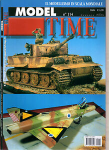 MODEL-TIME-N-114-2006-MIRAGE-III-CJ-ADMIRAL-SCHEER-TIGER-I-AUSF-E-SPATE-PROD