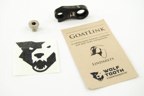 Wide Range Adaptor Wolf Tooth Lindarets GoatLink fits 1x10-Speed Shimano Shadow