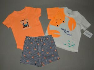 Nwt Baby Boy Clothes 18 Months Carter S 3 Piece Set See Details On Size 192135841402 Ebay