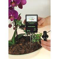 Rapitest Orchid Soil Moisture Sunlight Plant Flower Lawn Garden Tester Meter