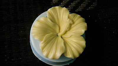 45mm Large Hibiscus Flower Silicone Mold Resin Polymer Clay Fondant Mould