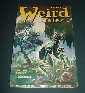 Vintage-Issue-of-Weird-Tales-for-November-1950-Horror-Dark-fantasy-Cover-Art