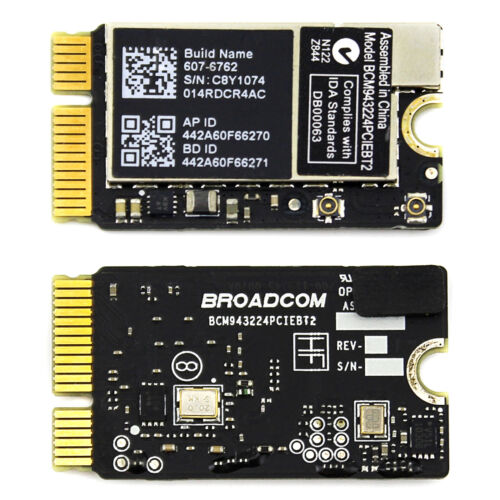 New Broadcom WiFi Wireless Card BCM943224PCIEBT2 For MacBook Air A1370 A1369