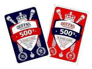 Queen-039-s-Slipper-500-039-s-Playing-Cards-Casino-Quality-1-Deck-amp-Points-Game-Rules