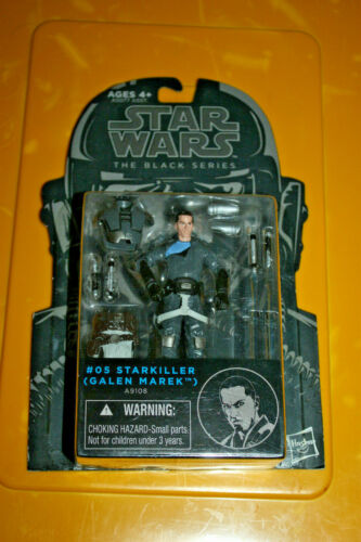 Star Wars Black Series #5 Galen Marek Starkiller Comme neuf on Card Low Shipping