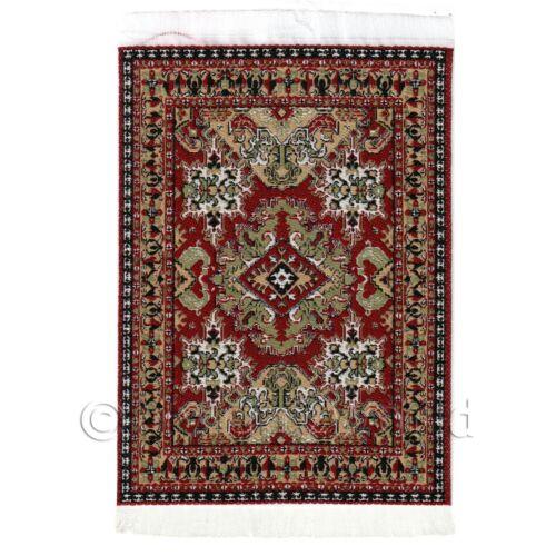 Casa de muñecas pequeñas alfombra//alfombra Rectangular 18th Century 18nsr13